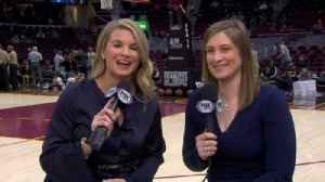 News video: Allie Clifton, Lindsay Whalen on expanding role of women in NBA broadcasting
