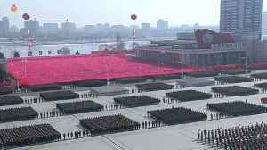 News video: North Korea shows off its military might ahead of Olympic Games
