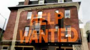 News video: Jobless Claims Hit Four Decade Low