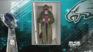 News video: Chris Long Shows Off Parade Outfit