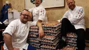 News video: Norwegian Olympics team scrambles egg order