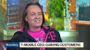 News video: T-Mobile's Legere Refers to AT&T and Verizon as 'Dumb and Dumber'