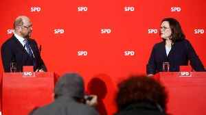 News video: SPD party members will decide Germany's fate
