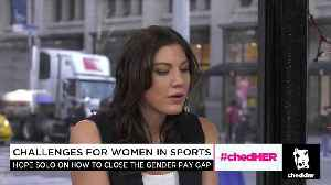 News video: Hope Solo On How To Close the Gender Pay Gap