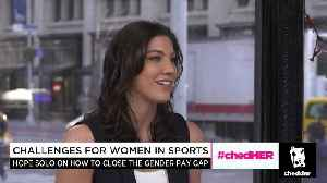 News video: Hope Solo On the Importance of Equal Pay in Sports