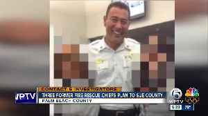 News video: Lawyers: Three former Palm Beach County Fire Chiefs plan to sue county