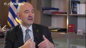 News video: EU economy commissioner talks Greek bailout, Germany, and Portuguese austerity