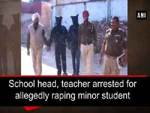 News video: School head, teacher arrested for allegedly raping minor student
