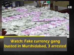 News video: Watch: Fake currency gang busted in Murshidabad, 3 arrested
