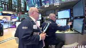 News video: Wall St ends brutal week on upbeat note