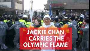 News video: Jackie Chan brings a touch of glamour to Winter Olympics in Pyeongchang