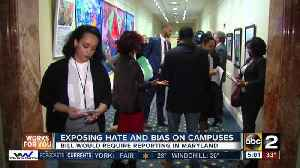 News video: Exposing hate and bias on campuses