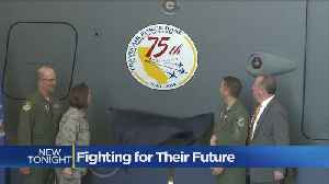 News video: Travis Air Force Base Celebrates 75 Years With Cautious Eye On Future