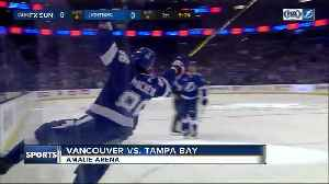 News video: Nikita Kucherov ends goal drought, Tampa Bay Lightning beat Vancouver Canucks 5-2