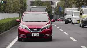 News video: City driving for Nissan NOTE e-POWER