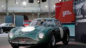 News video: Britain's most expensive car up for auction