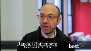 News video: IAB's Randall Rothenberg: Seeing Brand Safety In A New Light, Dumping 'Buy-Side, Sell-Side' Lingo