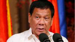 News video: Duterte Tells ICC He'd Rather Face A Firing Squad Than Be Jailed