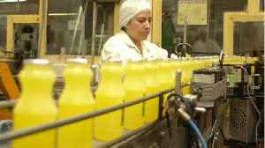 News video: Americans Buy Lots Of Orange Juice To Fight Off Colds And Flu