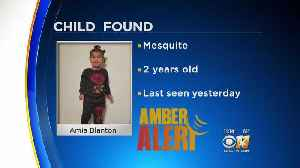 News video: Missing 2-Year-Old In Mesquite Found Safe