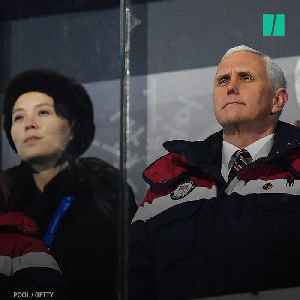 "News video: Pence Counters North Korea's ""Charm Offensive"""