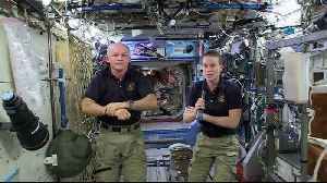 News video: Space Station Crew Talks with Kentucky Students, Officials