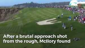 News video: Rory McIlroy Saves Par With Incredible Chip