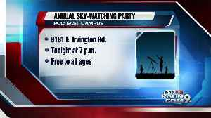 News video: Free family-friendly sky-watching party tonight