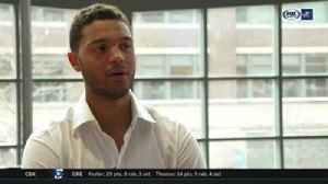 News video: Seth Jones honored to be Blue Jackets' Hockey Is For Everyone ambassador