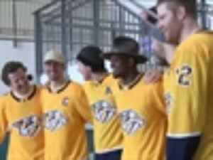 News video: In return to Montreal, PK Subban and Predators teammates visited Montreal Children's Hospital