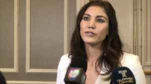 News video: Hope Solo expresses disappointment in Athlete Council vote in U.S. Soccer election