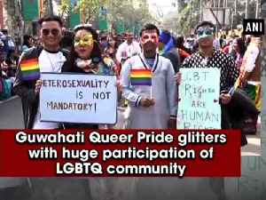 News video: Guwahati Queer Pride glitters with huge participation of LGBTQ community