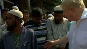 "News video: UK's Boris Johnson on ""horror"" of Rohingya crisis"
