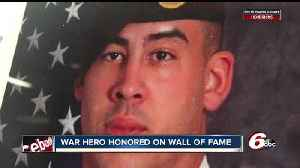 News video: Fallen soldier, Columbus alum inducted into Columbus East Hall of Fame