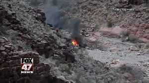 Helicopter crashes in Grand Canyon, killing 3 tourists