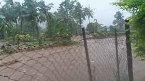 News video: Tropical Storm Footage from Samoa