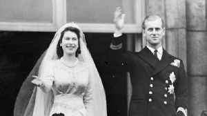 News video: A Look Back At Queen Elizabeth & Prince Philip's Wedding Day