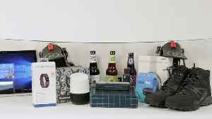 News video: Holiday Gift Guide Husband Edition