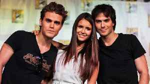News video: 'The Vampire Diaries' Cast Then & Now