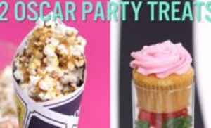 "News video: These Two Oscar Party Treats Are Sweeter Than Emma Stone and Ryan Gosling In ""La La Land"""