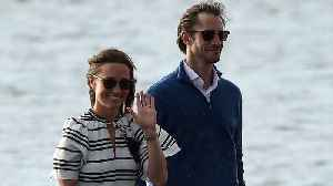 News video: Pippa Middleton and James Matthews Were Spotted Honeymooning This Week in Sydney Harbor