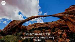 News video: Seniors, Get Your $10 National Parks Lifetime Pass While You Still Can