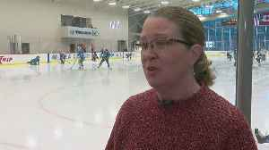 News video: NWHL Hosts All-Star Game At Wild's Practice Facility