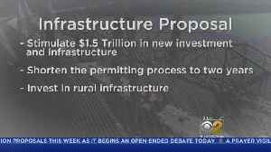 News video: Trump To Unveil $1.5 Trillion Infrastructure Plan