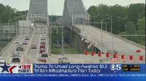 News video: Trump To Unveil Massive Infrastructure Plan