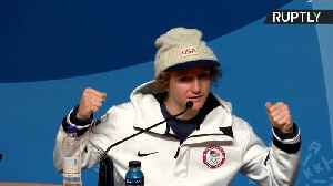 News video: Youngest Snowboard Olympic Gold Medalist Talks Winning and Homework