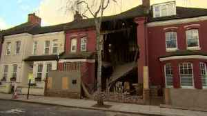 News video: Footage shows collapsed London house