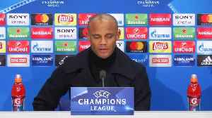 News video: City feel at home in Champions League, says Kompany