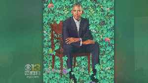 News video: National Portrait Gallery's Obama Portraits Unveiled, Michelle's Was Done By Baltimore Artist