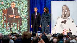 News video: Barack And Michelle Obama Official Portraits Revealed
